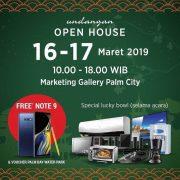 open house palm city apartemen rumah di jakarta barat